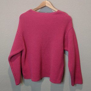 H&M Hot Pink Knitted Sweater M